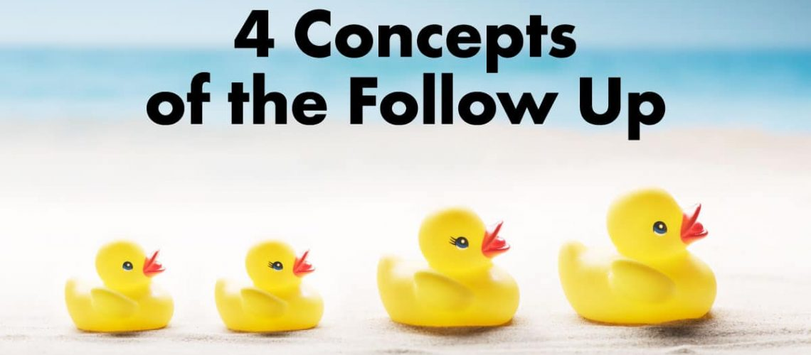 4 Concepts of the Follow Up